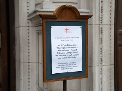 125 Anniversary Mass at Westminster Cathedral