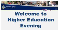 Higher education evening